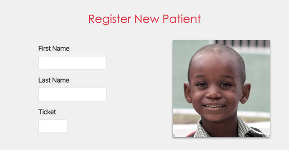 Register New Patient